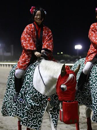 川崎競馬の誘導馬01月開催 獅子舞 赤半纏Ver-120103-07