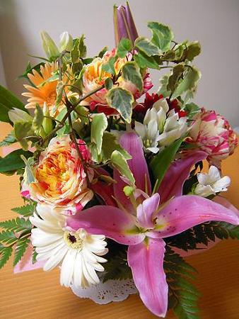 バースデープレゼント・お花