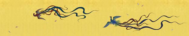 「襖絵 鳳凰」 念佛宗(念仏宗)無量寿寺 佛教之王堂  社寺仏教美術 nenbutsushu007