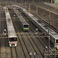 Photos: 夕方ラッシュに備える回送列車