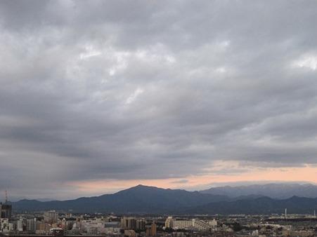 丹沢方面1月6日