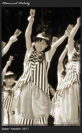 り組(高知県理容生活衛生同業組合)_34 - 原宿表参道元氣祭 スーパーよさこい 2011