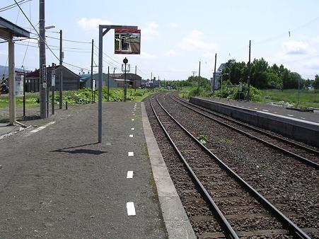 清里町駅2