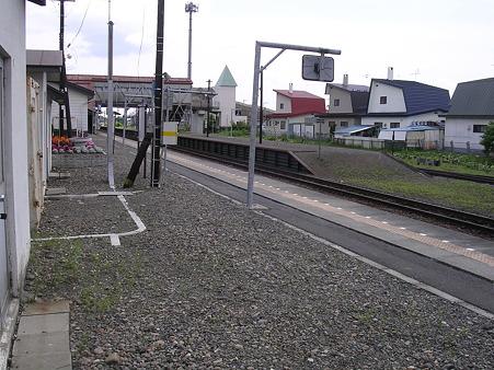 芽室駅ホーム1