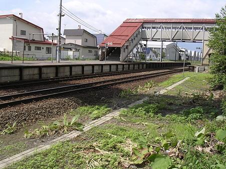 芽室駅ホーム3