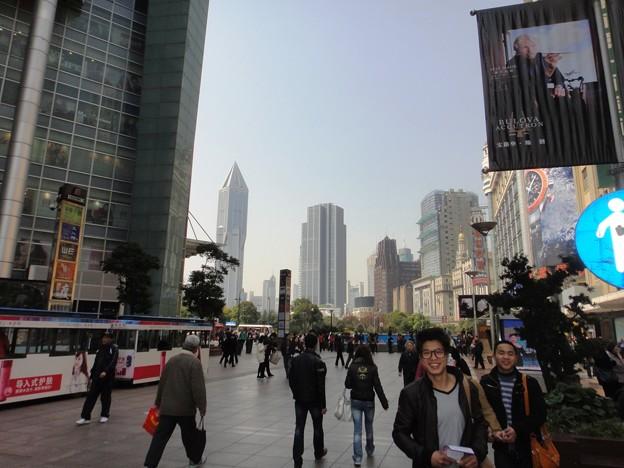 朝の南京東路5(上海)