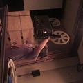 ed03302184a49 この格好はいっ... 294. 写真   市民会館大ホール 山形映画祭の名物男、奈良 · 写真  『銀鉛画報会』映写チェック中。