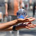 Photos: 不思議な球体