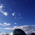 Photos: なにわの海の時空館と青空