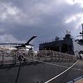 SH-60Kと格納庫