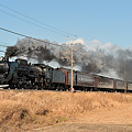 Photos: 試9121レC6120牽引旧型客車2日目