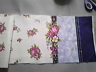 余り布で台所の敷物_03
