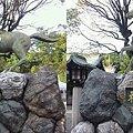 写真: 3D馬像