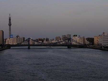 清洲橋@隅田川