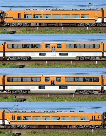 近鉄30000系30210F(V10)海側側面 2010.10.11