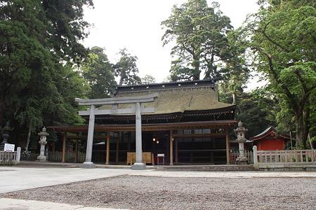 鹿島神宮・拝殿