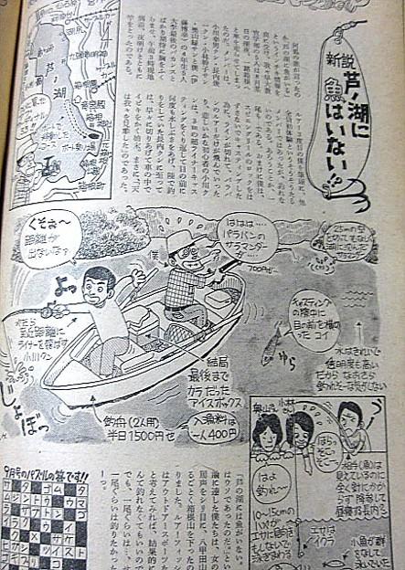 Photos: 芦ノ湖に魚はいない?