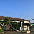 東海道本線 早朝の早川駅