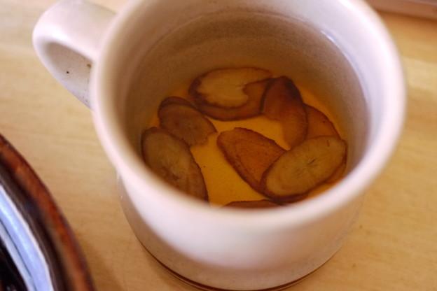 Photos: ごぼう茶も飲む