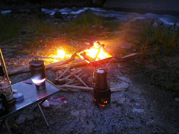 Photos: 焚き火