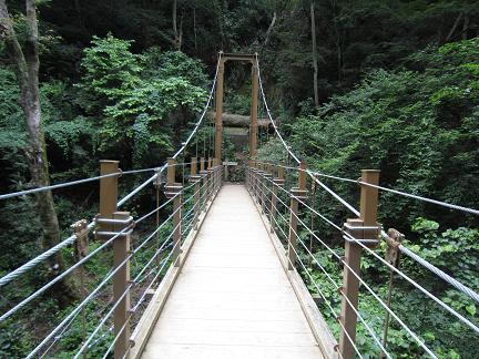 つり橋で〜す