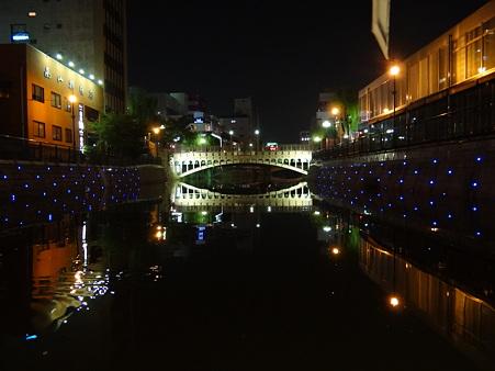 名古屋:納屋橋の夜景