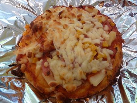 ピザを作ってみました