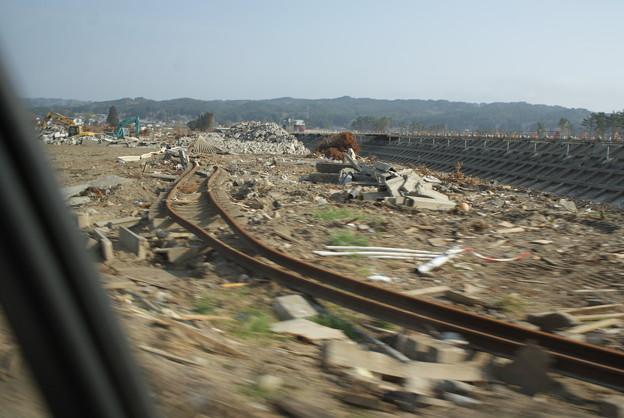 三陸鉄道の現状(ほんの一部ですが)