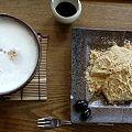 Photos: わらび餅&豆乳ラテ