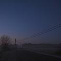 写真: The Road with Telephone Poles