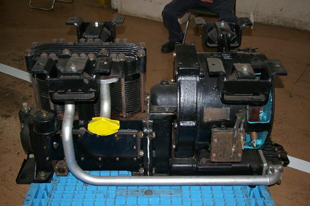 電動空気圧縮機 MH113A-C2000M 東京総合車両センター