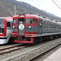 Photos: 長電2100系 E1編成・しなの鉄道169系 S51編成