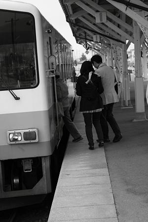 長井駅ラッシュ(笑)