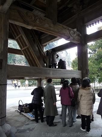 120214-建長寺 三門 (13)
