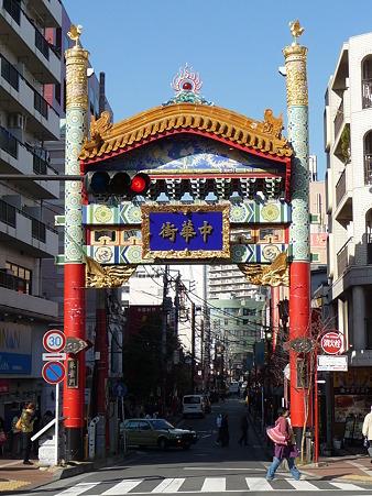 110203-中華街 朱雀門 (2)