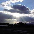 Photos: 雲間からの日差し
