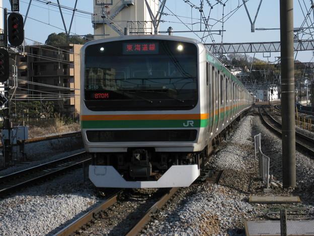 東海道線E231系15両編成 in戸塚