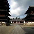 写真: 法隆寺中心伽藍20111229