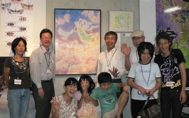 千葉県立中央博物館-市民企画展示室 辻友紀子さんの展示1