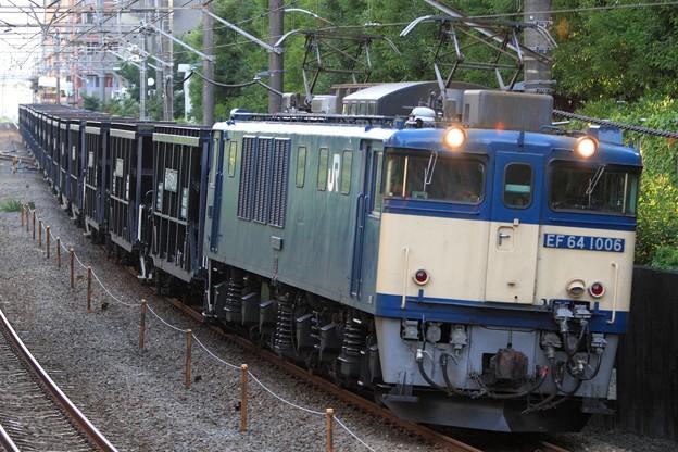 5764レ EF64 1006+ホキ