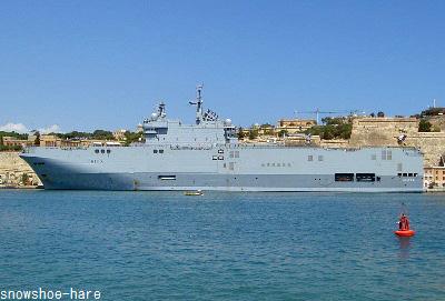 フランスの軍艦