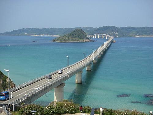 角島大橋-アップ