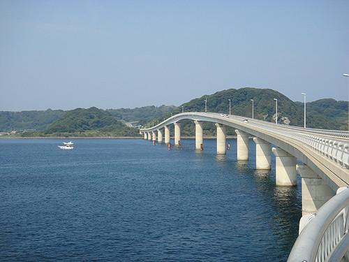 角島大橋-走行3