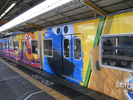 103系桜島線(西九条駅)4