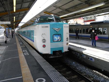 381系くろしお号(西九条駅)2