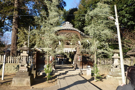 初詣2012 佐野の朝日森神社