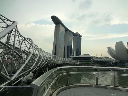 2011.12.17 居間 シンガポールからの素敵な便り マリーナ・ベイ・サンズ