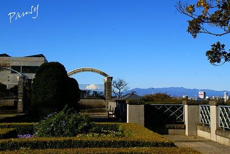 富士山の見える丘・・