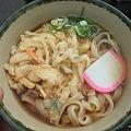 Photos: 昼食は天ぷらきしめん