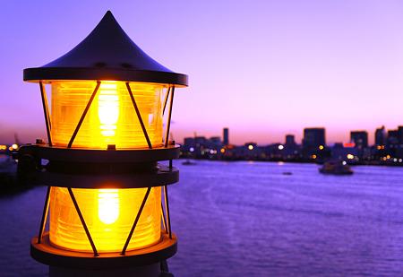 レインボーブリッジ標識灯